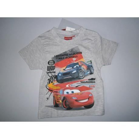 Chlapčenské tričko šedé autíčka