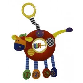Aktívna hračka kravička